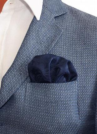 Нагрудный носовой шёлковый платок macclesfield