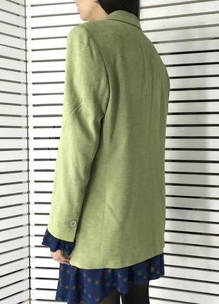 Фисташковый оверсайз пиджак