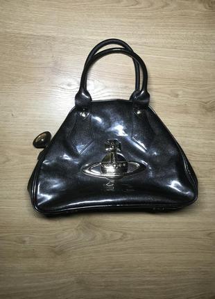 Vivienne westwood оригинальная женская сумка сумочка с короткими ручками