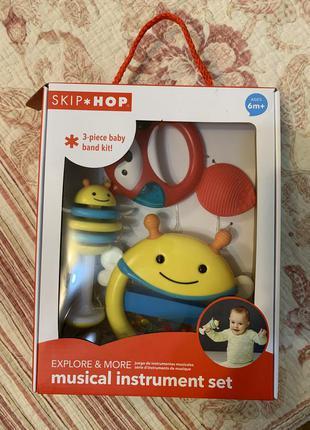Музыкальный набор игрушек skip hop 6+