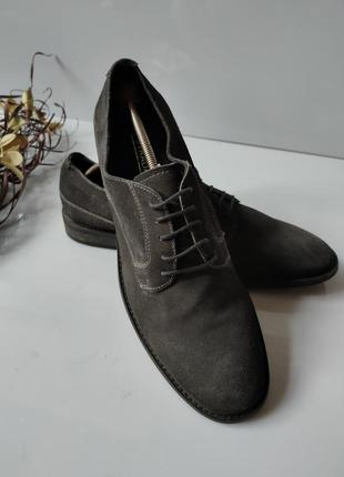 Туфли замшевые la strada men
