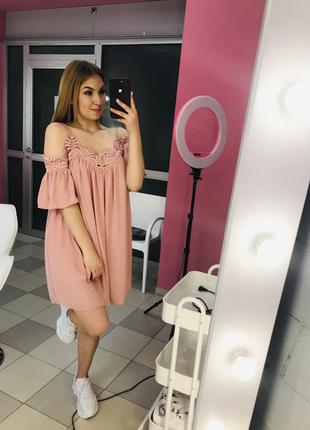 Ніжно - рожева сукня 🤍