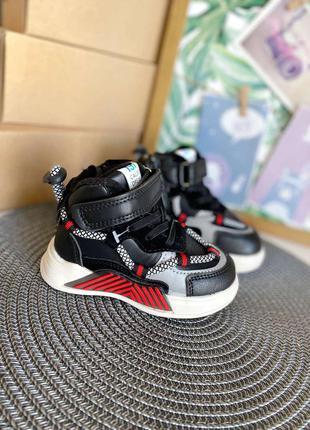 Модные демисезонные ботинки, хайтопы