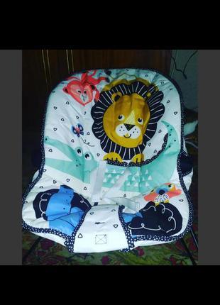 Массажное кресло-шезлонг fisher-price