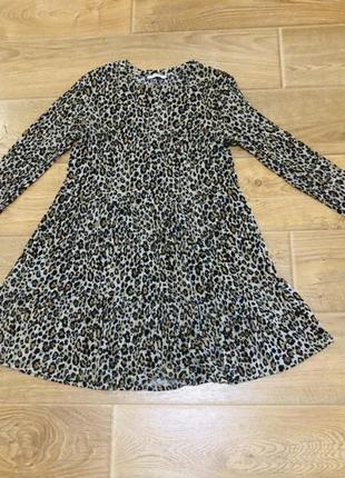 Ярусна трикотажна сукня zara