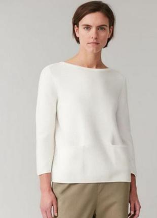 Кашемировый свитер джемпер с карманами 100% кашемир.