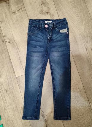 Джинсы брендовые, джинсы на девочку, джинсы с утяжкой