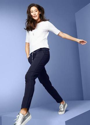 Стильные плотные женские брюки, штаны от тсм tchibo (чибо), германия, размер укр 58-62