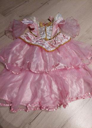 Платье принцессы 3-4года 98-104 см disney princess