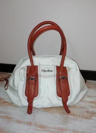 Объемная сумка-облако с короткими ручками