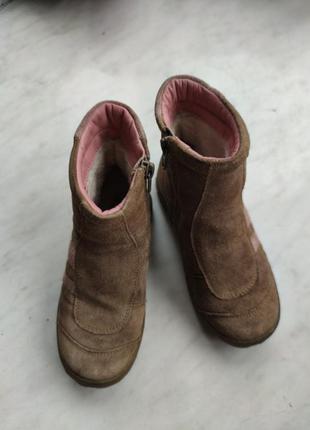 Ботинки на девочку осень зима 28 германия