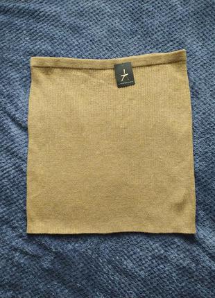 Вязаная юбка / теплая юбка большой размер