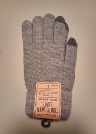 Зимние перчатки touch screen