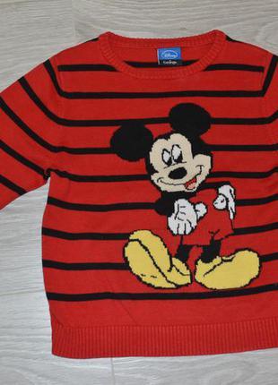 Свитшот свитер с микки маусом