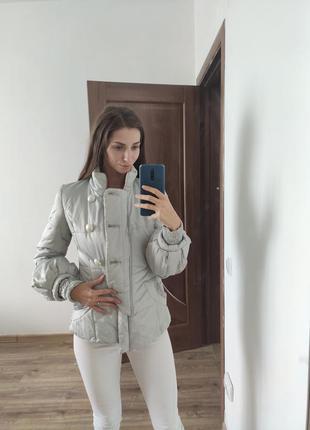 Осіння куртка з трендовими рукавами та базовим кольорем, безкоштовна доставка!