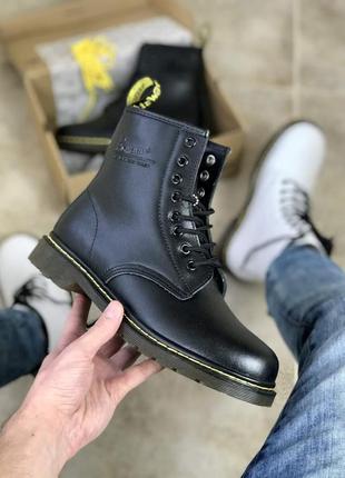 Зимние ботинки dr.martens black (термо)36-37-38-39-40-41