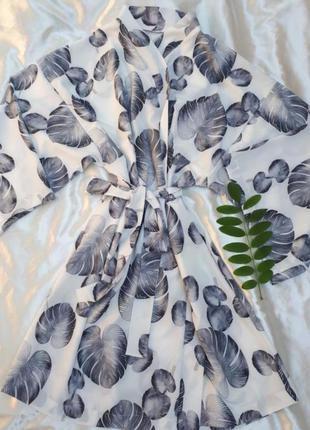 Халат короткий, одежда для дома и отдыха