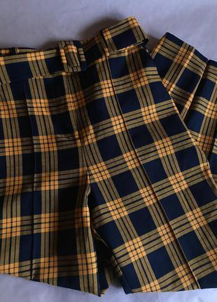 Клітчасті брюки від asos