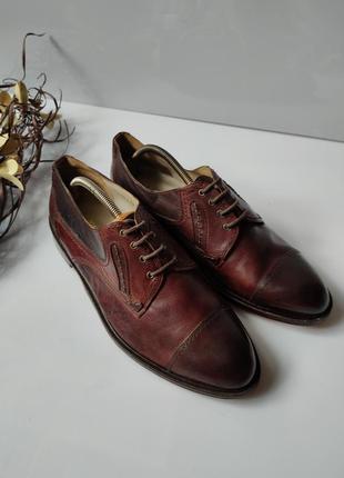 Туфли кожаные a.j. soares lagoa 45р.