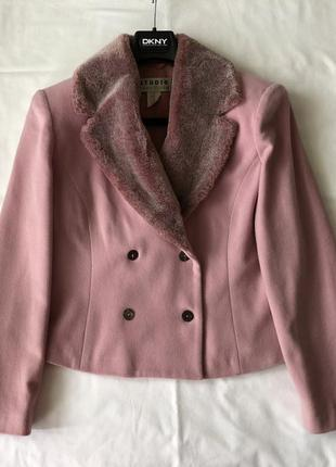 Куртка-жакет шерсть & кашемир. винтаж