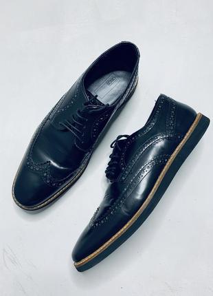Мужские кожаные туфли asos