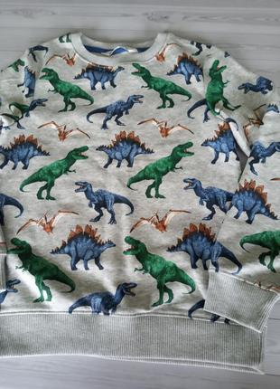H&m новый утеплённый свитшот кофта для мальчика 8-10 лет