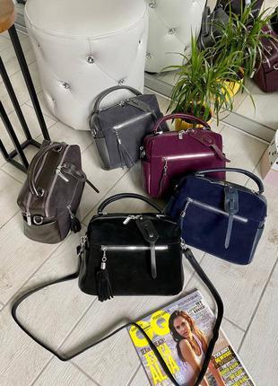 Распродажа! сумка женская натур замша сумка классика