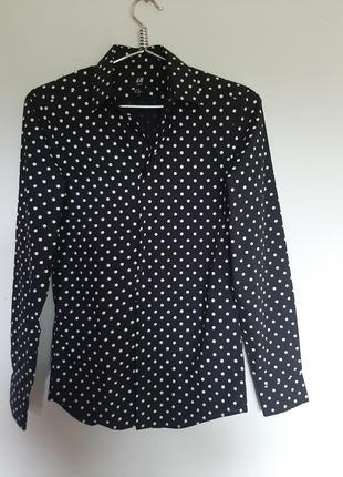 Новая- брендовая стильная блузачка в актуальный принт.