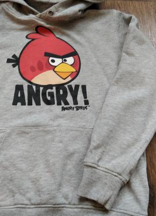 Худи, толстовка с angry birds от h&m