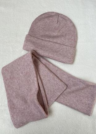 Теплий зимовий комплект