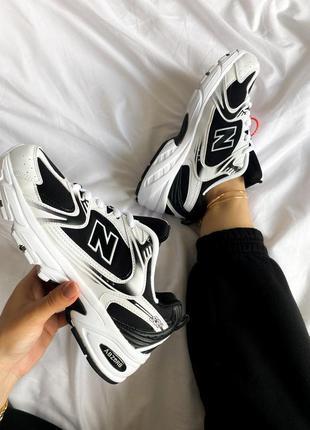 Кроссовки new balance 530 black white