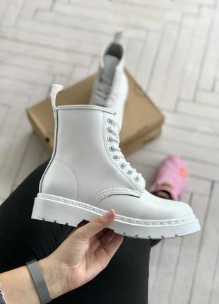Ботинки dr.martens white 37-38-40