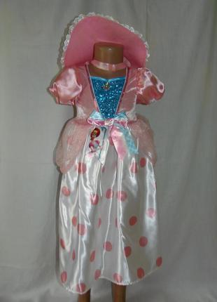 Карнавальное платье пастушки на 3-4 года