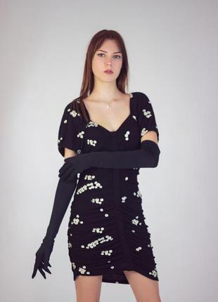 Платье в ромашку