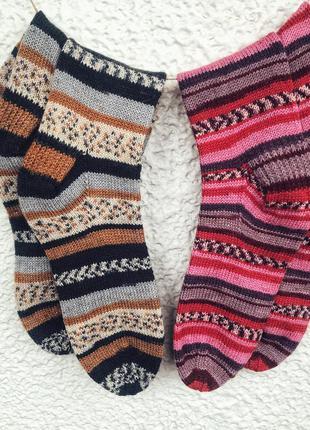 Носки вязаные/тёплые носочки