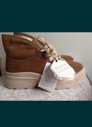 Зимние ботинки zara.