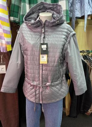 Куртка жилетка трансформер деми