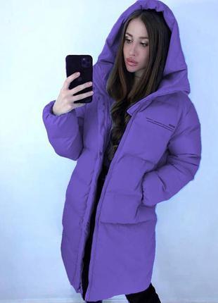 Курточка длинная