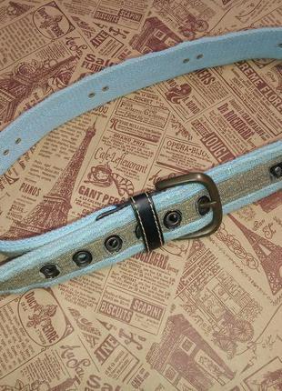 Пояс текстильный для джинсов 74-87 см