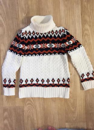 🍁теплый зимний свитер 50% шерсть 🍮🍁