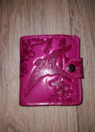 Оригинальный кожаный кошелек