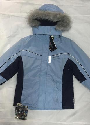 Куртка спортивная зимняя 4 в 1 zeroxposur , s (6-7)