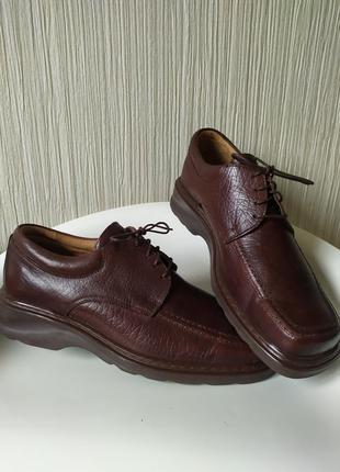 Туфли мужские кожаные kadar ,40 ,р-р