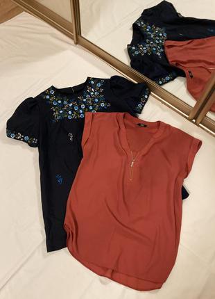 Комплект блузочок  46 розмір ціна за обидві