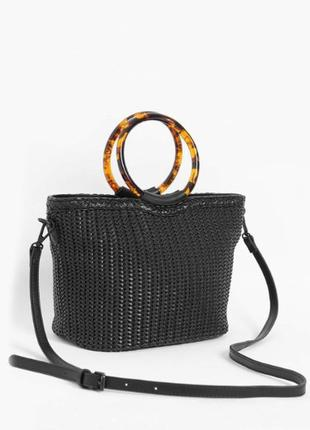 Плетеная сумка orsay