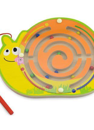 Магнітний лабіринт viga toys равлик (59966)