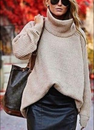 Шерстяная кофта свитер оверсайз laura biagiotti italy