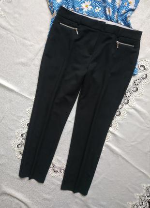 Базовые черные брюки