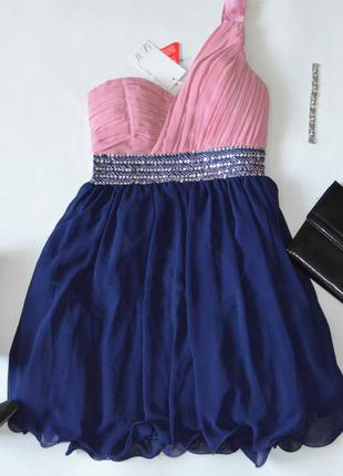 Красивое нарядное выпускное новогоднее платье little mistess новорічна святкова сукня