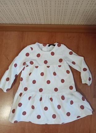 Платье на девочку 2 года.